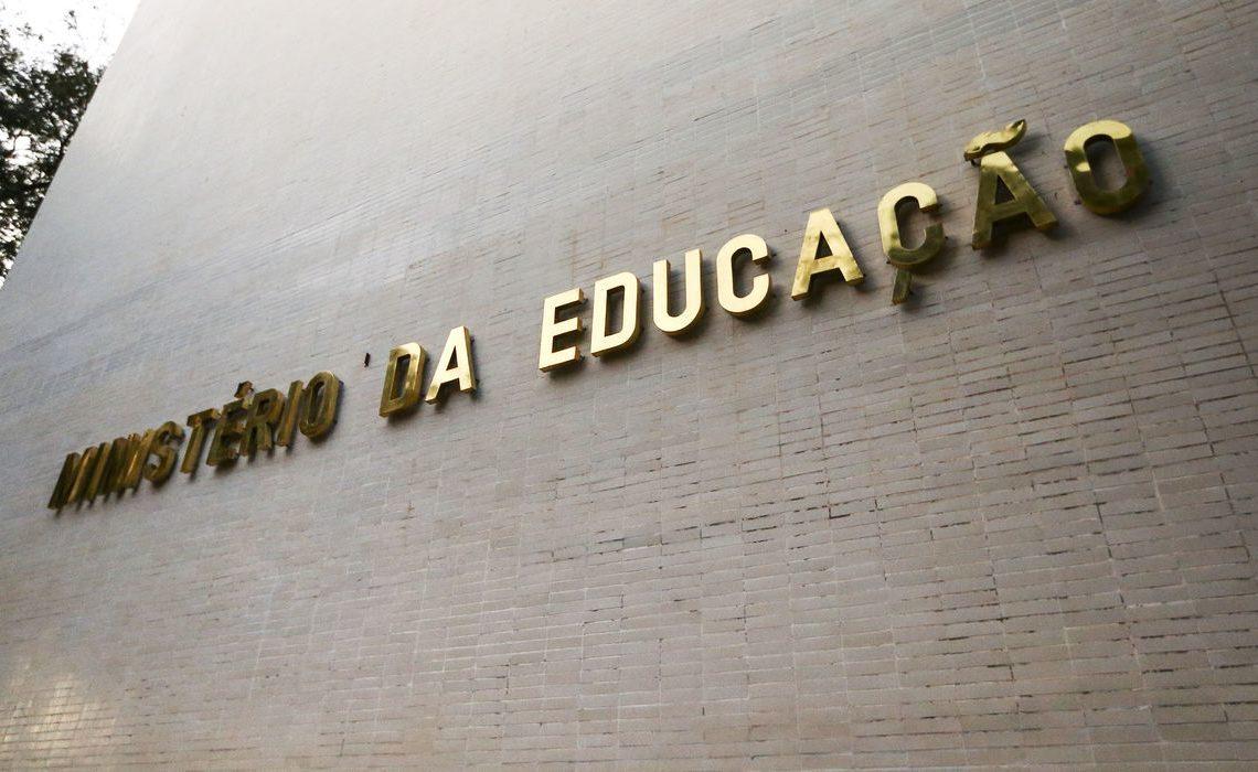 Prédio do Ministério da Educação Foto: Marcelo Camargo/Agência Brasil