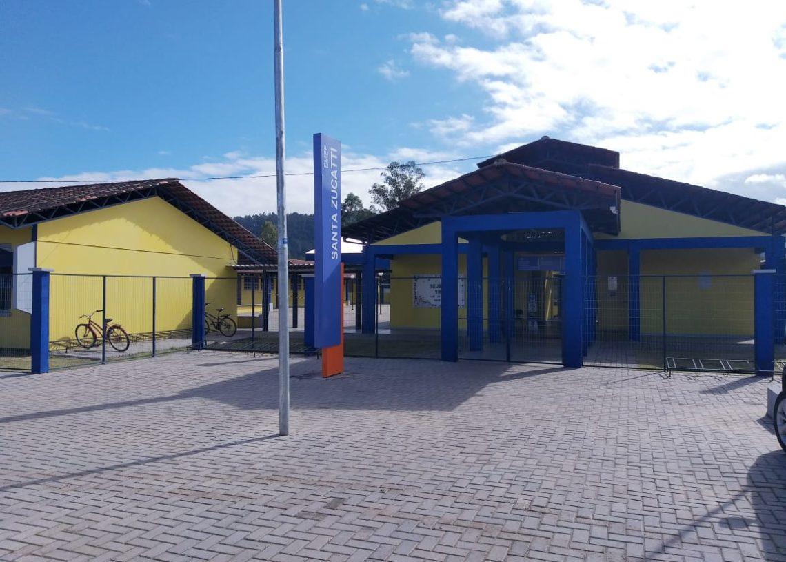 Segundo o prefeito da cidade, mais de 400 crianças serão atendidas na EMEF Foto: Joice Machado