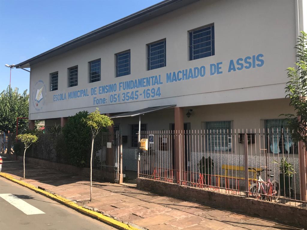 A EMEF Machado de Assis será a que receberá maior valor entre as escolas de ensino fundamental do município Foto: Lilian Moraes