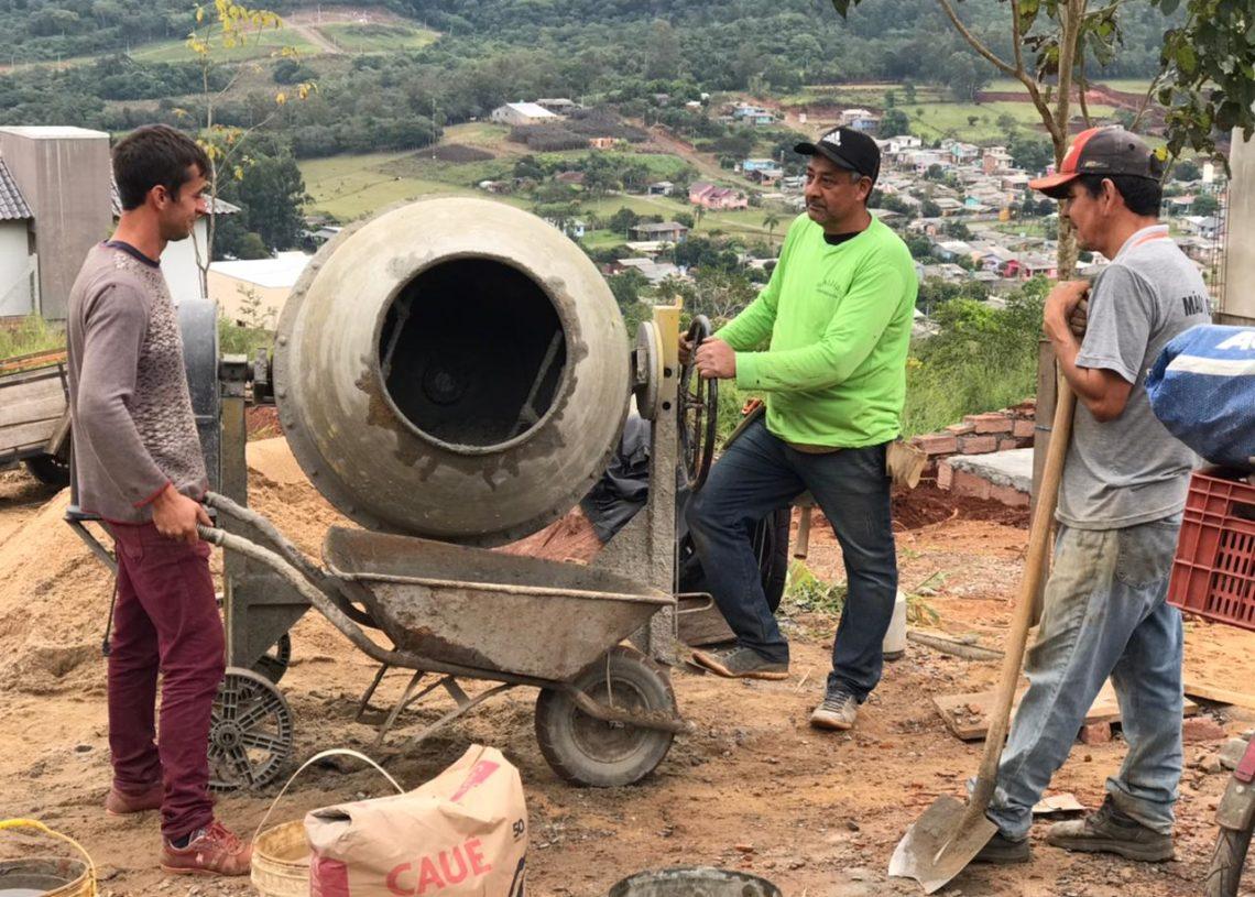Data vai homenagear trabalhadores do setor de construção civil no município Foto: Eduarda Rocha/Assessoria de Comunicação