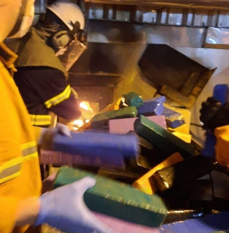 Local da incineração não foi divulgado por motivos de segurança - Foto: Raquel Barcellos