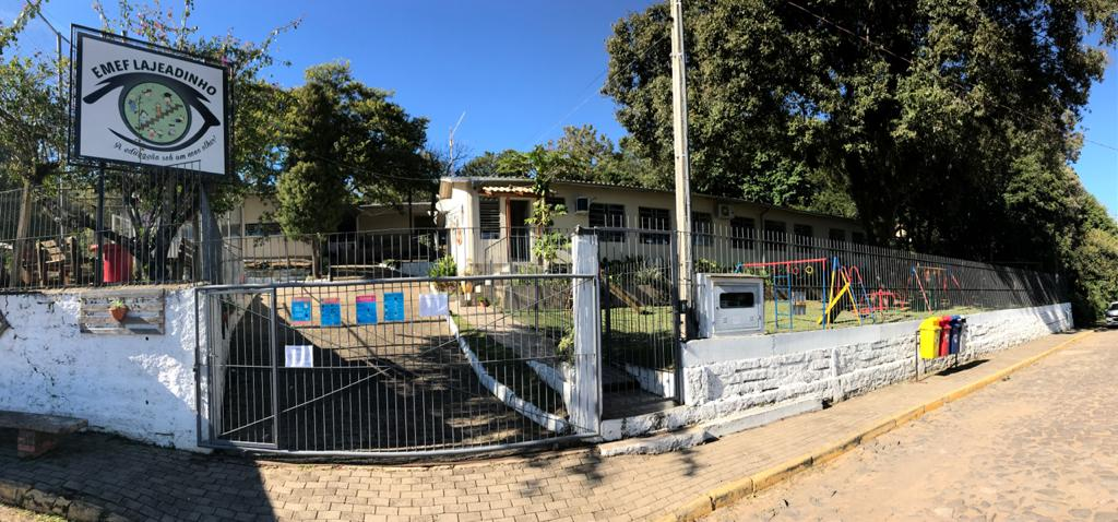 Escola Lajeadinho. Foto: Matheus de Oliveira