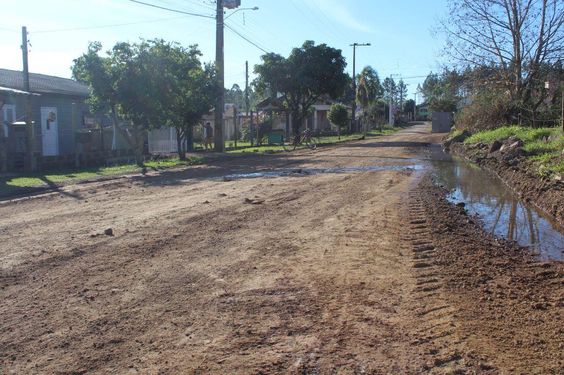 A rua Dauto Inácio dos Santos é uma das travessas da localidade Foto: Lilian Moraes