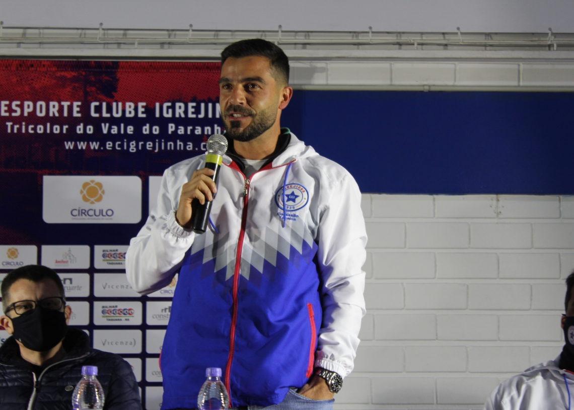 Guilherme Só, diretor de futebol Foto: Lilian Moraes