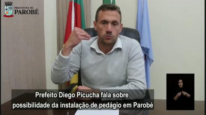Prefeito de Parobé manifestou contrariedade ao assunto Foto: Reprodução/ Divulgação