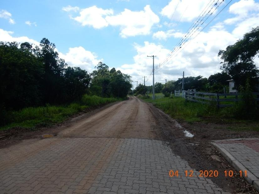 Pavimentação será de 2332,00m² Foto: Sandro Silva