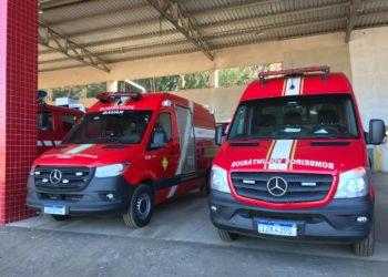 Ambulâncias trabalham com sistema integrado. Foto: Matheus de Oliveira