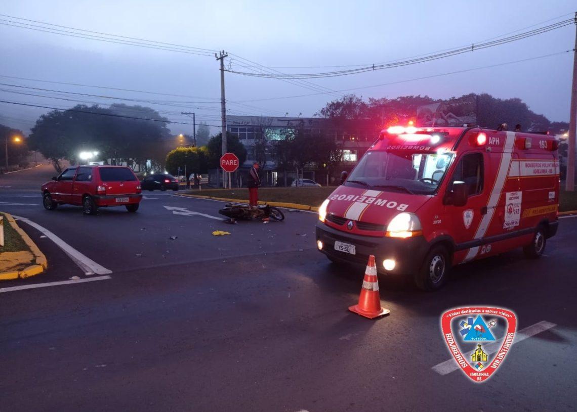 Foto: Bombeiros Voluntários/Igrejinha
