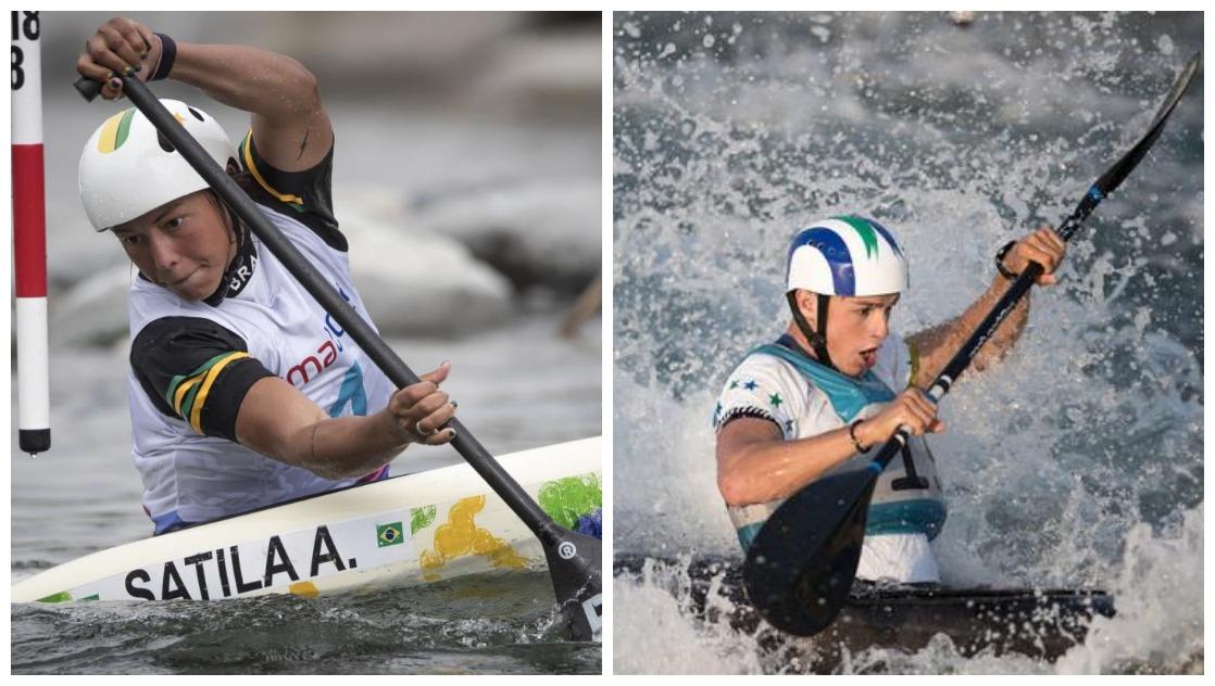 Ana vai para a sua terceira Olimpíada, aos 25 anos; Pepê Gonçalves disputa a sua segunda Olimpíada Foto: COB/Divulgação | Jonne Roriz/COB
