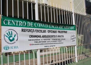 Centro fica localizado na Rua Coronel Flores, n. 2358. Foto: Matheus de Oliveira