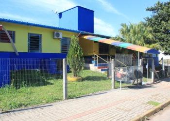 EMEI Arco-Íris recebeu três novas salas neste anos para ampliar atendimento às crianças. Foto: Matheus de Oliveira