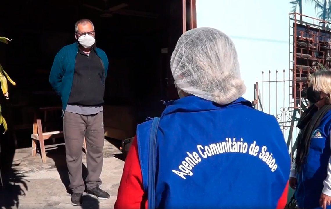 Atualmente, município conta com 26 agentes de saúde. Foto: Prefeitura de Parobé