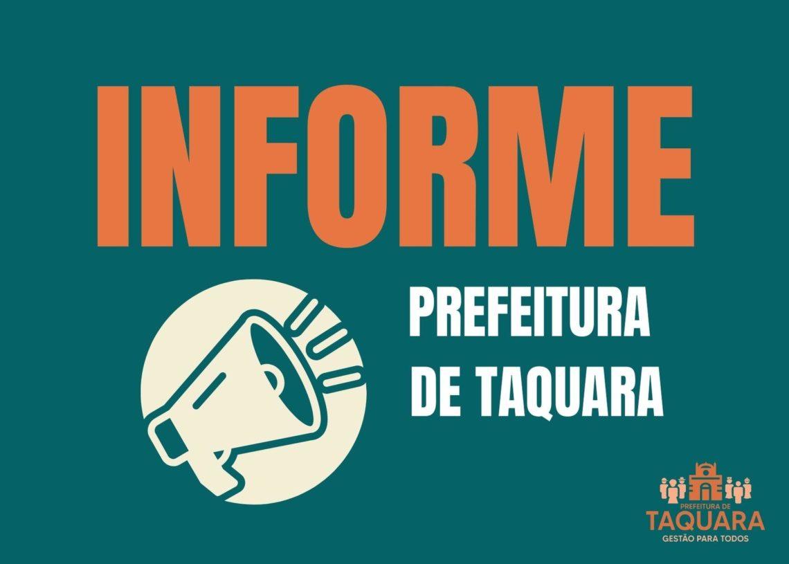 Foto: Divulgação Prefeitura de Taquara
