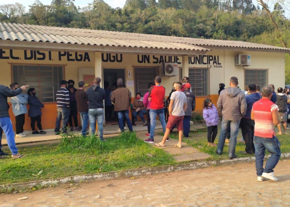 Vacinação ocorrerá em Unidades Básicas de Saúde Foto: Ruan Nascimento/Prefeitura de Taquara