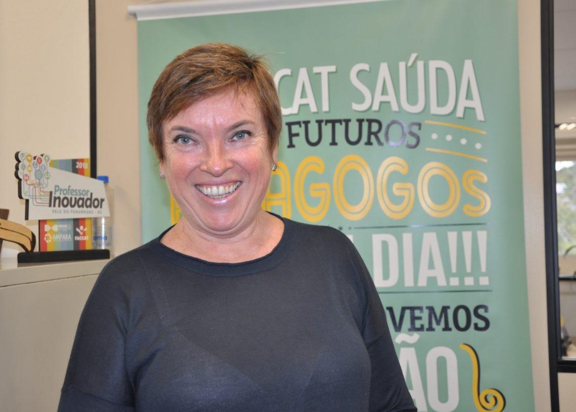 Maria de Fátima Reszka, coordenadora do curso de Pedagogia da Faccat Foto: Claucia Ferreira/Faccat