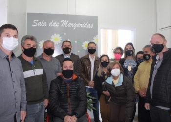 Ato contou com a presença das autoridades policiais, servidores municipais e representantes do legislativo Foto: Lilian Moraes