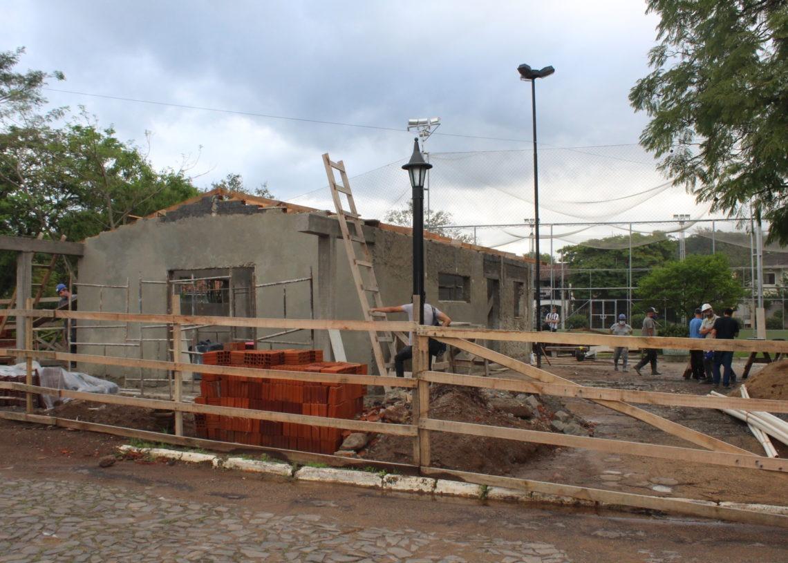 Construção está em sua fase final Foto: Lilian Moraes